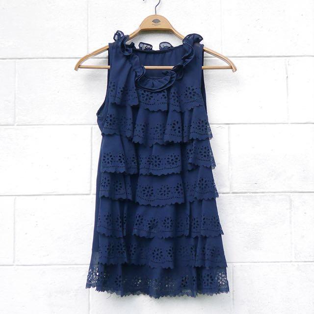 Layered Ruffled Dress
