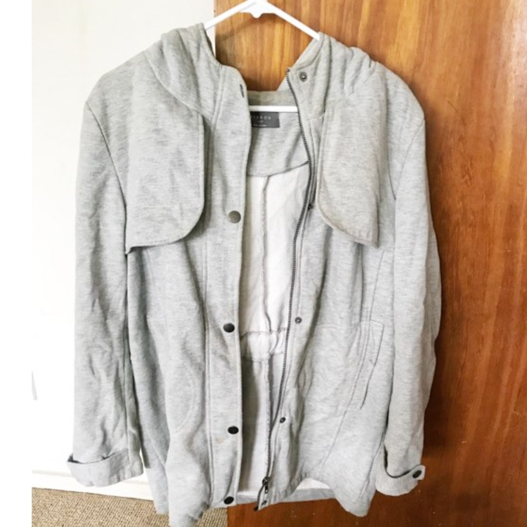 Light Grey coat