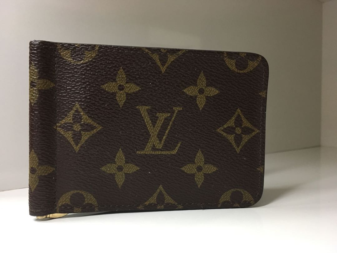 0e7d916595 Louis Vuitton Money & Card Clip Holder, Luxury, Bags & Wallets on ...