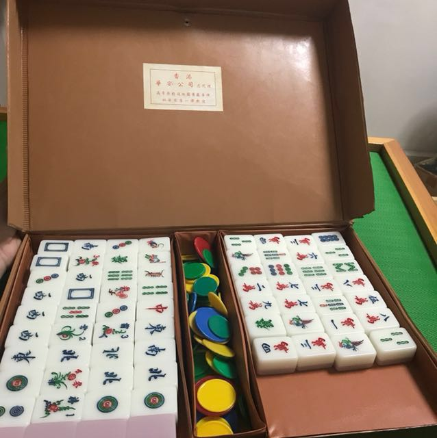 Mahjong set (A2 size) , Toys & Games, Others on Carousell