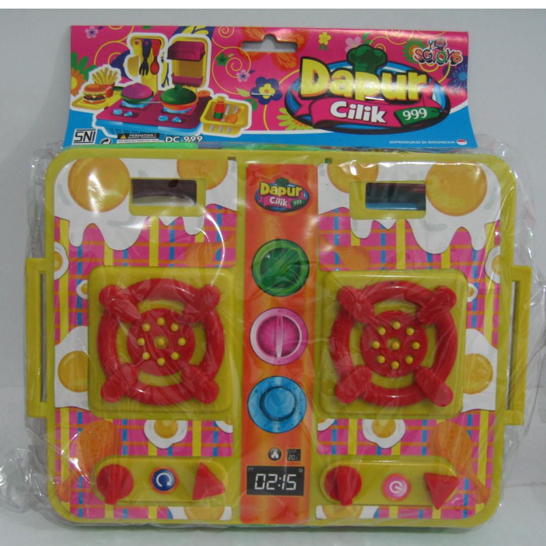 Mainan anak kitchen set mainan anak dapur cilik 999 babies kids toys walkers on carousell