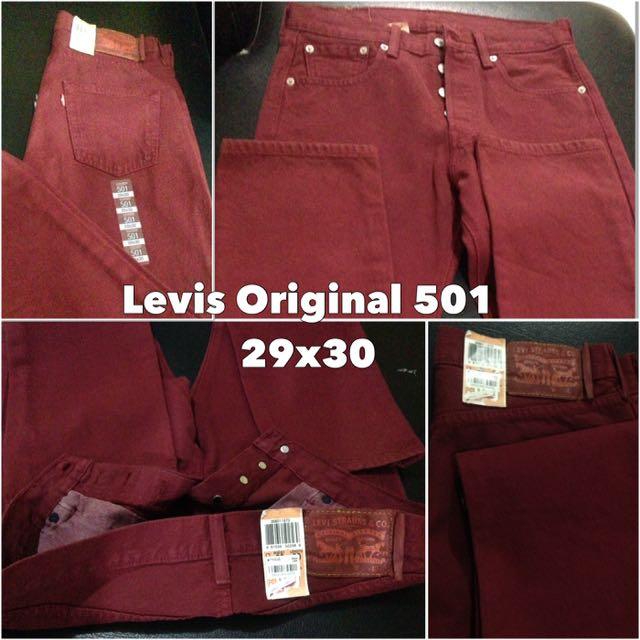 Mens Levis 501