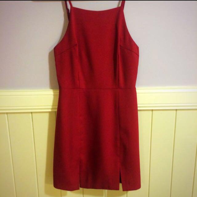Mika & Gala Red Dress