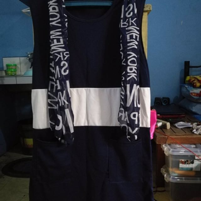 navy blue dress!😍