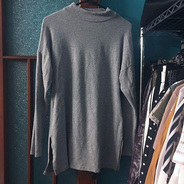 New Look Grey Knit Tunic