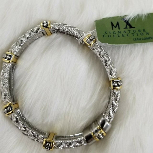 LQQK! STILL AVAILABLE  New Mx Signature Collection  Two Tone Bracelet