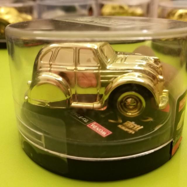 New Original #6 Gold Car Collection American Car Life A-Cars Wonda Limited Edition