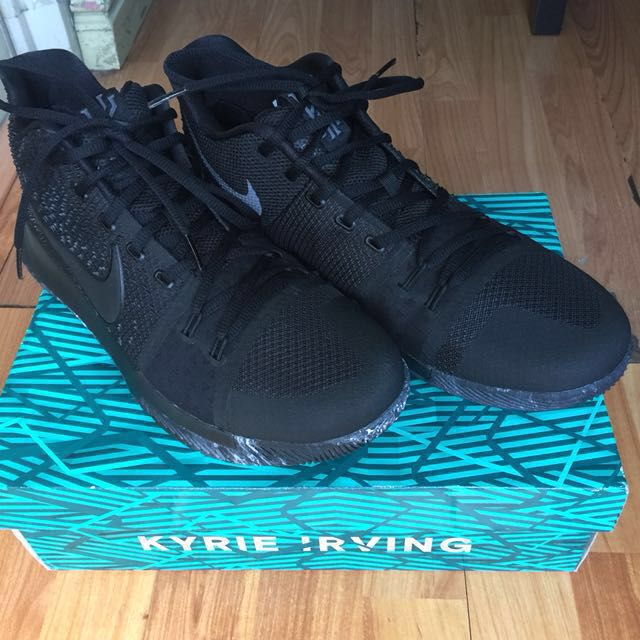 """promo code 3008e 50a1a Nike Kyrie 3 """"Marble"""" or """"Triple Black"""" (Used once!!!) (US ..."""