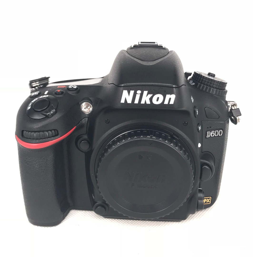 Nikon D600 (24.3MP) FullFrame DSLR Body (Used) [SN:***4742 ...