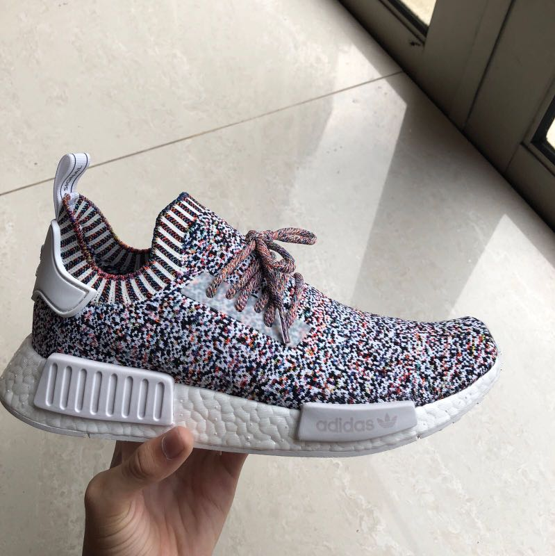 the latest b3382 16586 Nmd colour static