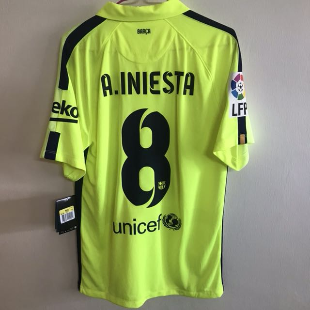 7b3be933e official authentic nike 2014-15 fc barcelona third jersey shirt a