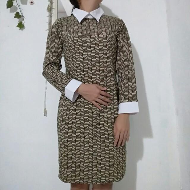 Pattern Dress Terusan