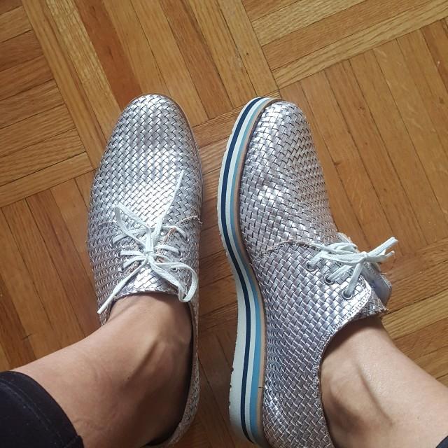 Pertini Silver shoes