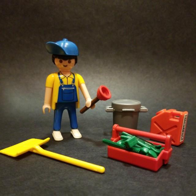 Playmobil 人仔及散件