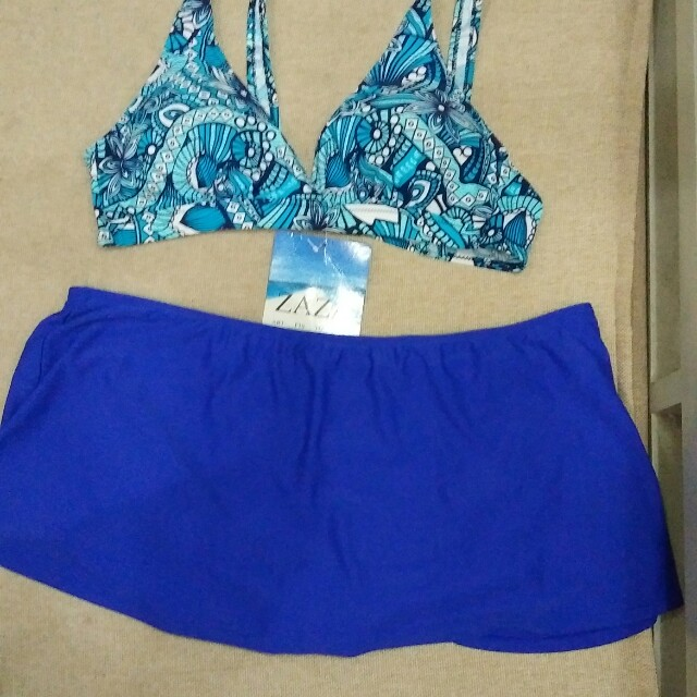 PLUS SIZE SWIMSUIT 2 PIECE