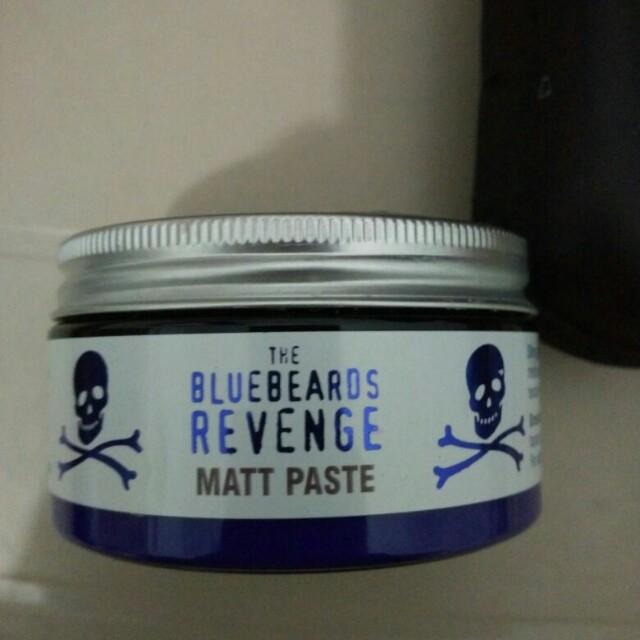 Pomade bluebeards revenge matt paste