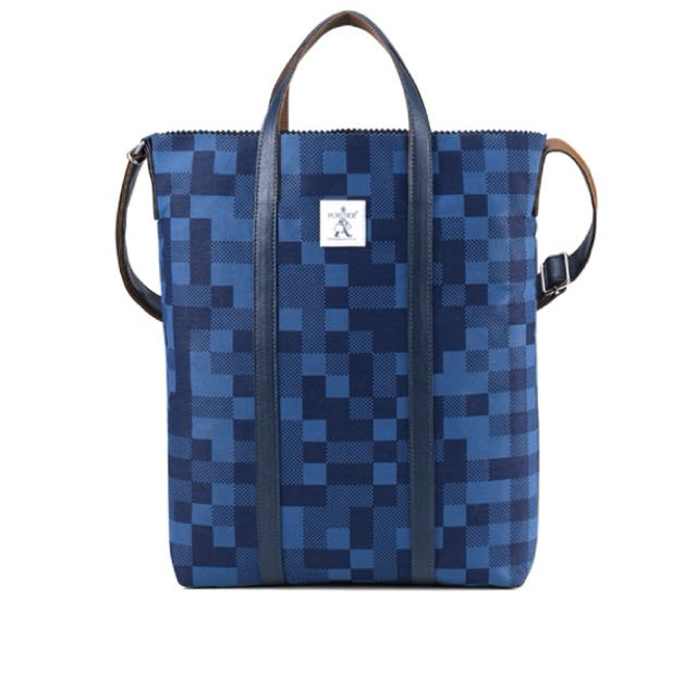 Porter BUZZ斜肩包(深藍色)11572-00179