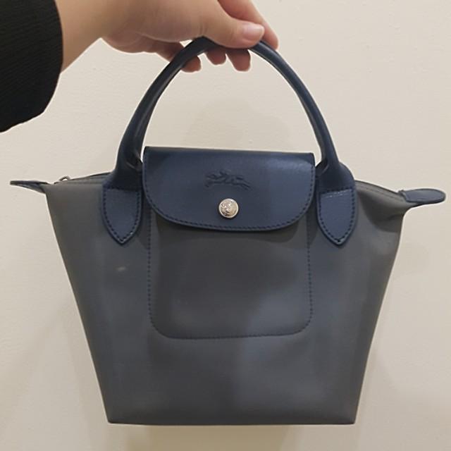 Preloved Long Champ Mini Handbag