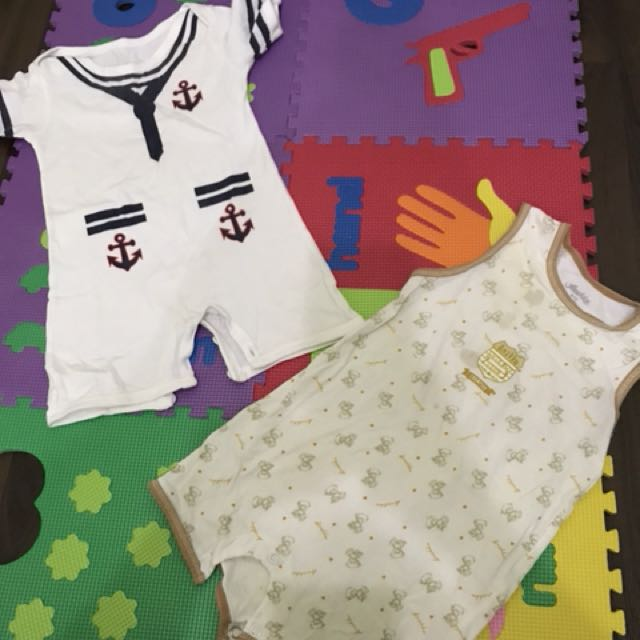 Preloved short jumper ( 6-12 months ) @ 15k/pcs