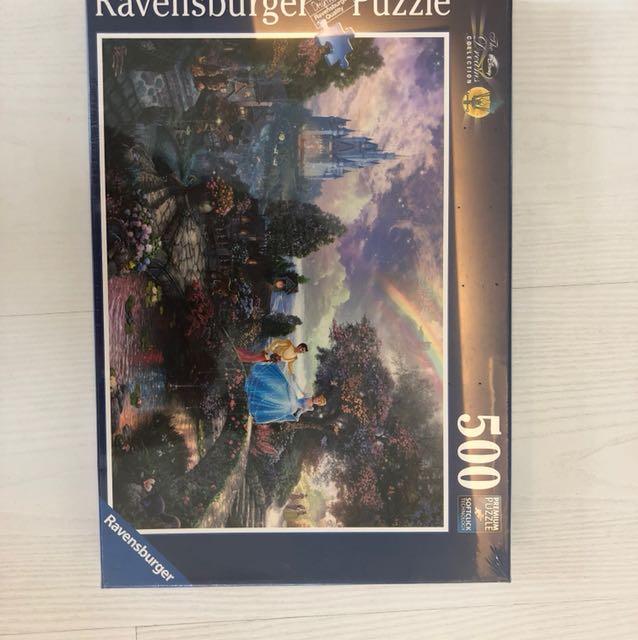 德國Ravensburger 迪士尼500片拼圖
