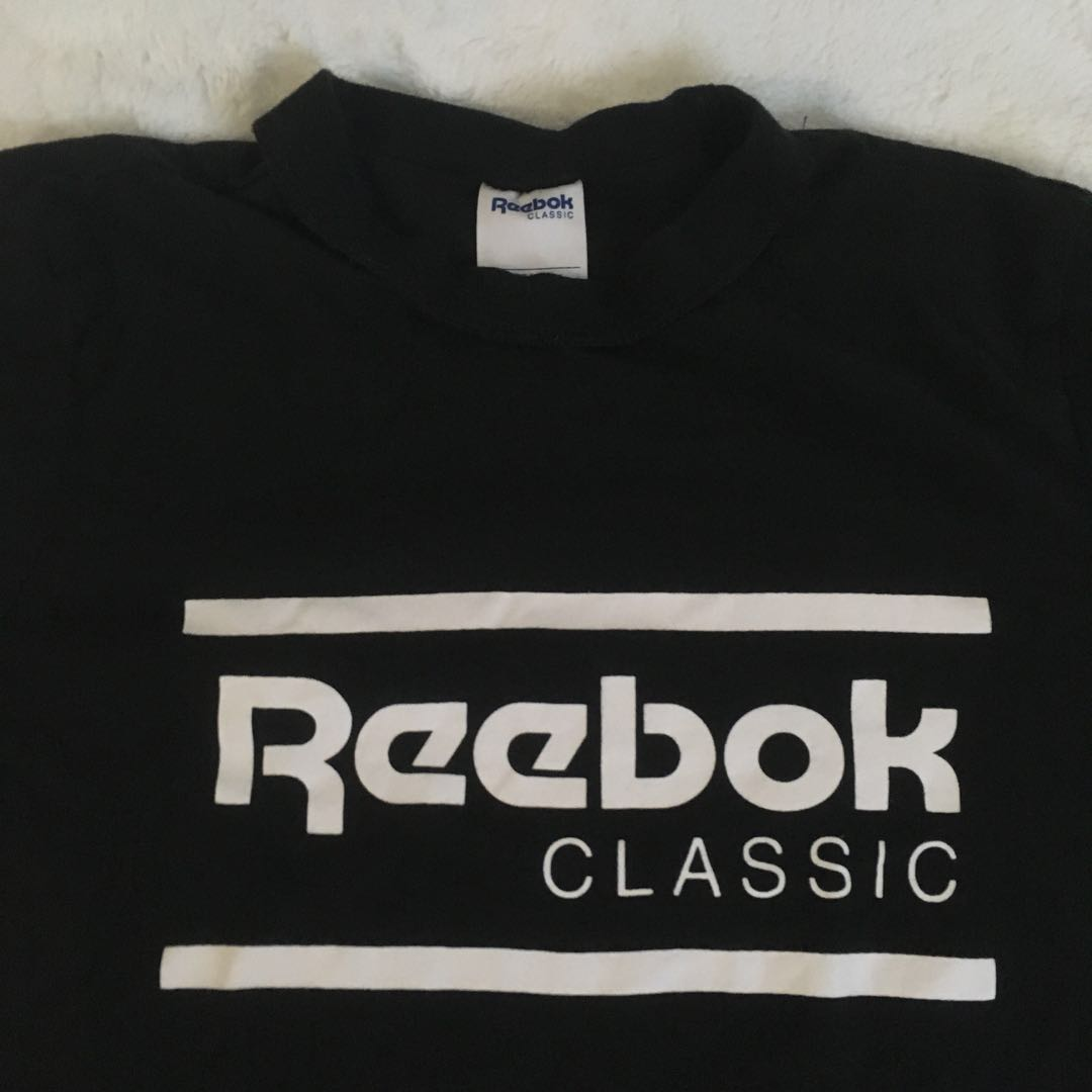 REEBOK BLACK SHIRT