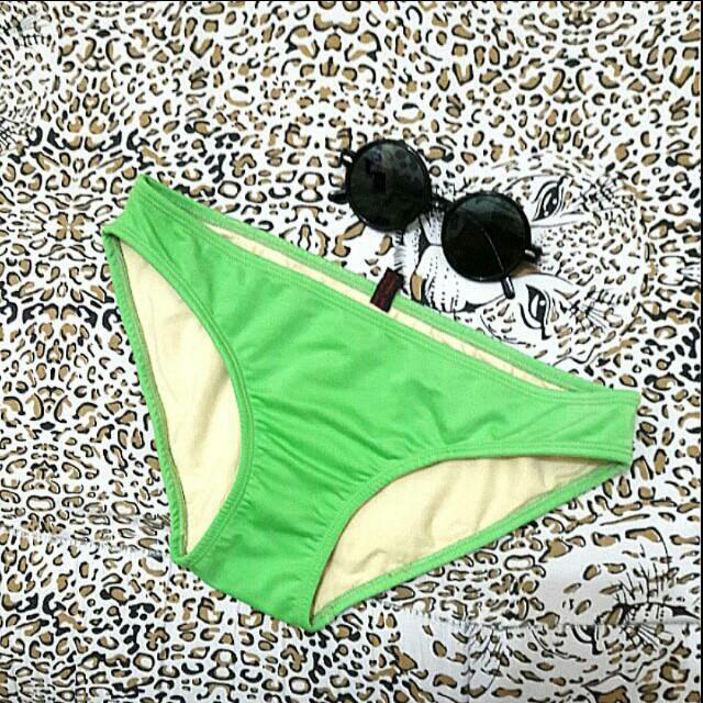 REPRICED! Green bikini bottom