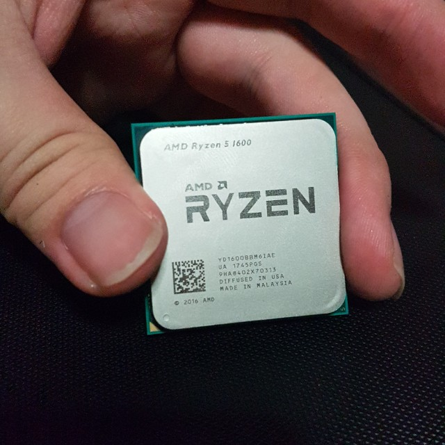 Ryzen 5 1600 Damaged Pins Electronics Computer Parts Accessories On Carousell