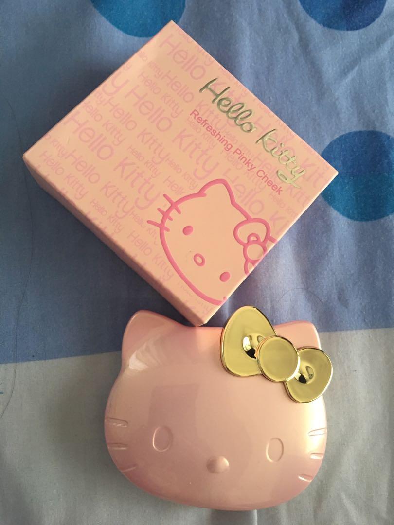 Sanrio hello kitty refreshing pink cheek blusher in no.2