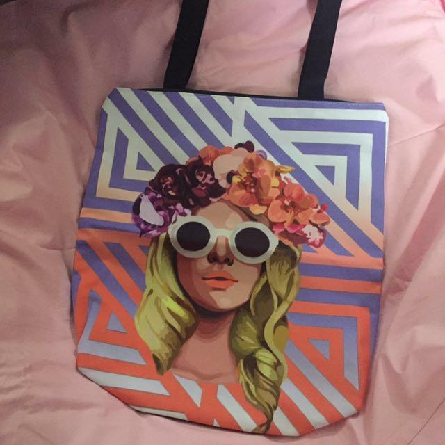 SM Grab Tote Bag