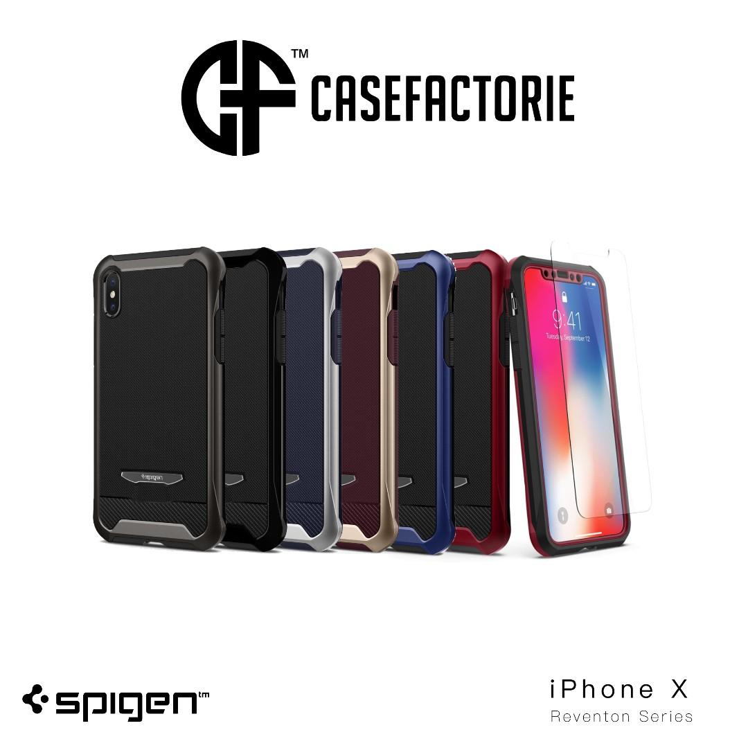 low priced 30935 e72b7 Spigen Reventon iPhone X 360 Protection Case