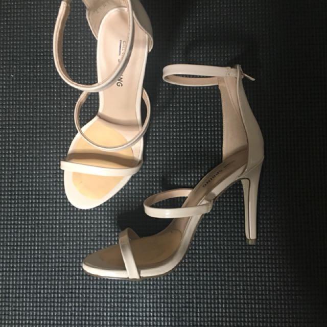 spring nude heels