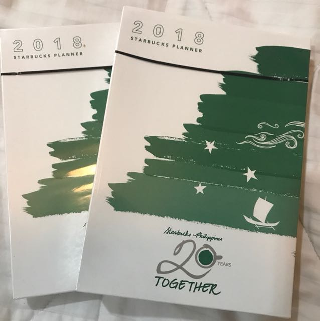 Starbucks Planners(2 pieces)