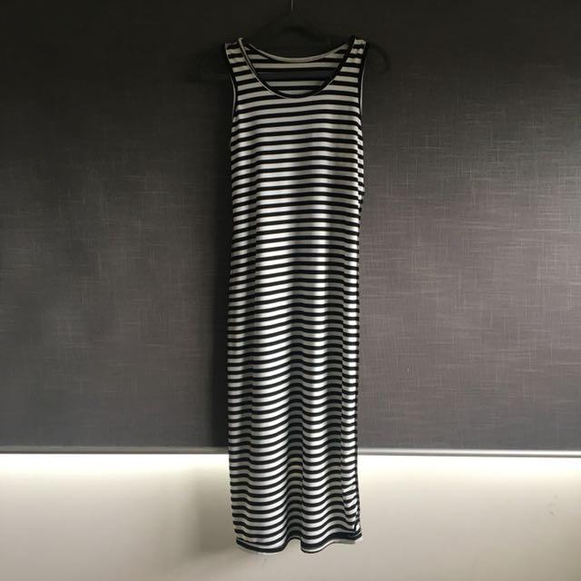 Strippy Dress