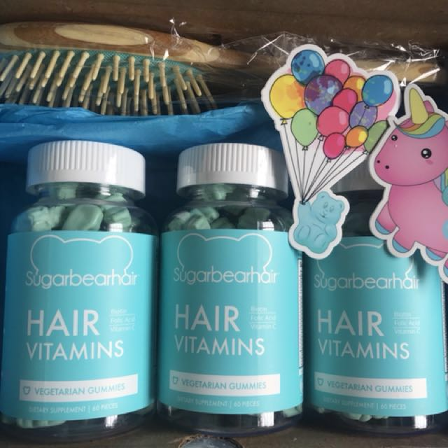 Sugarbearhair Sugar Bear Hair Permen Gum Vitamin Rambut Original Source · Sugar Bear Hair Vitamin Shopee