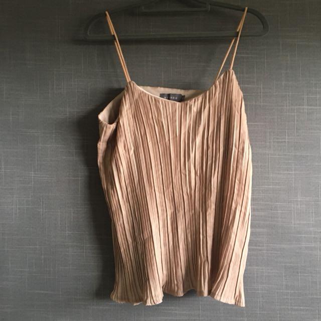 Tan Cami Shirt