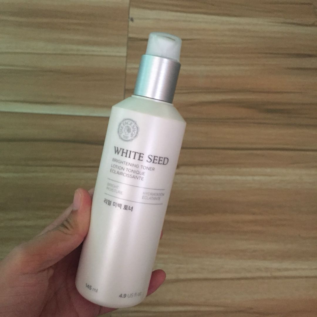 The Face Shop White Seed Brightening Toner