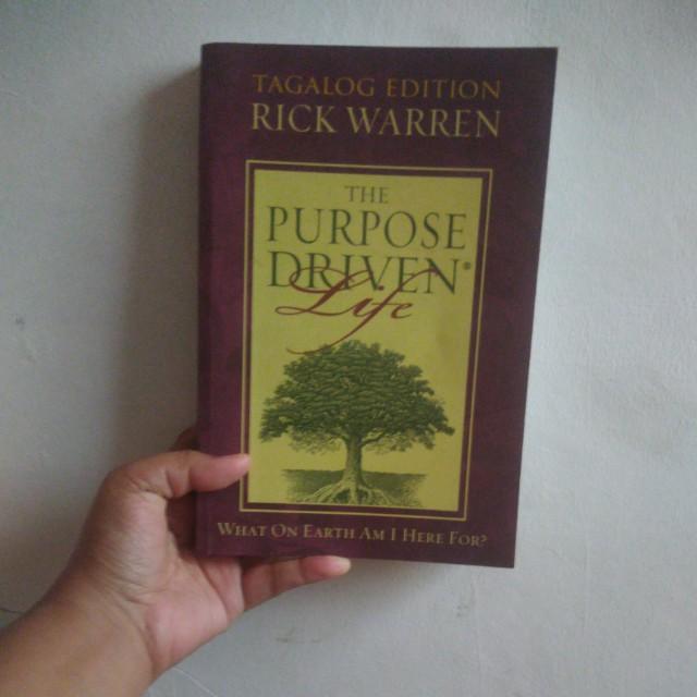 The Purpose Driven Life Tagalog Edition
