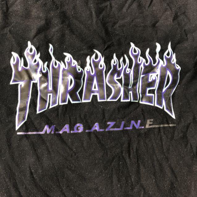 Thrasher blue