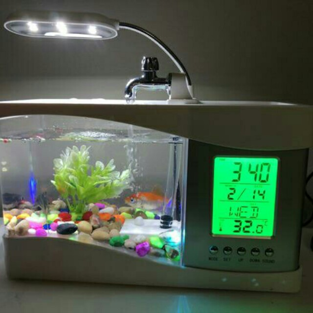 USB Desktop Mini Aquarium