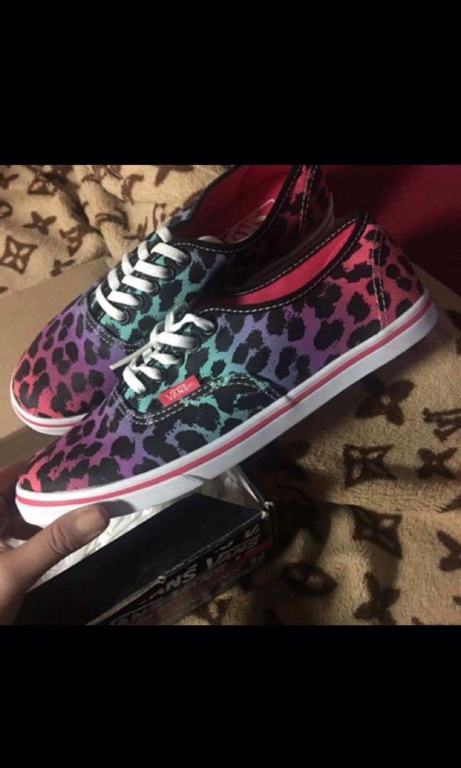 Vans leopard ombre