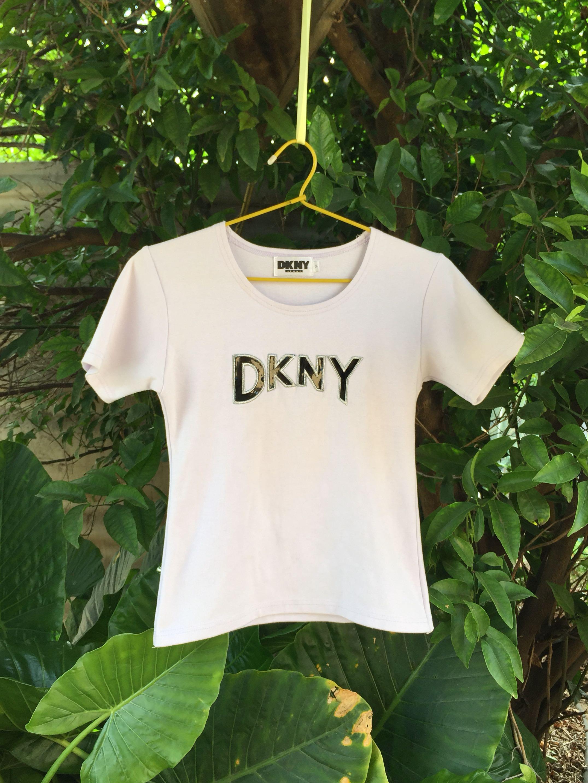 Vintage DKNY Baby Tee