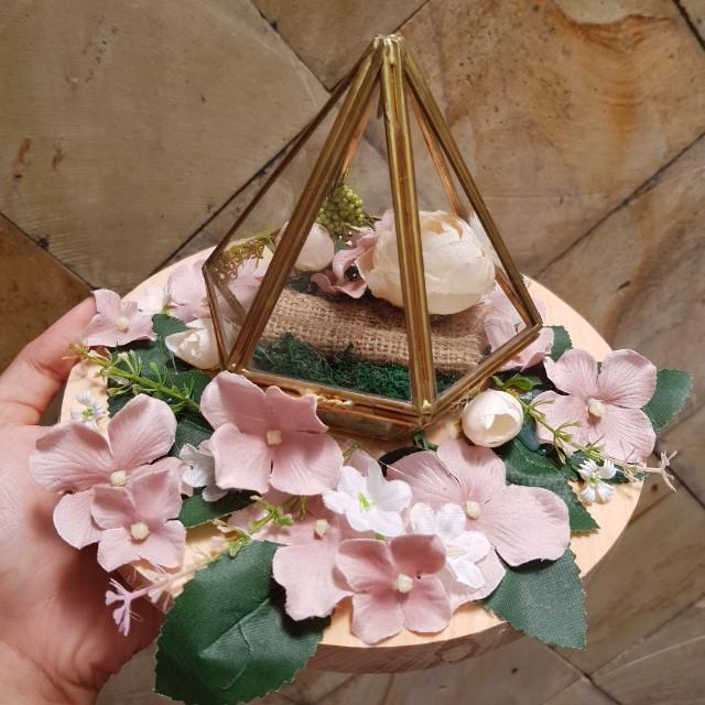 wedding ring box ring bearer kotak cincin