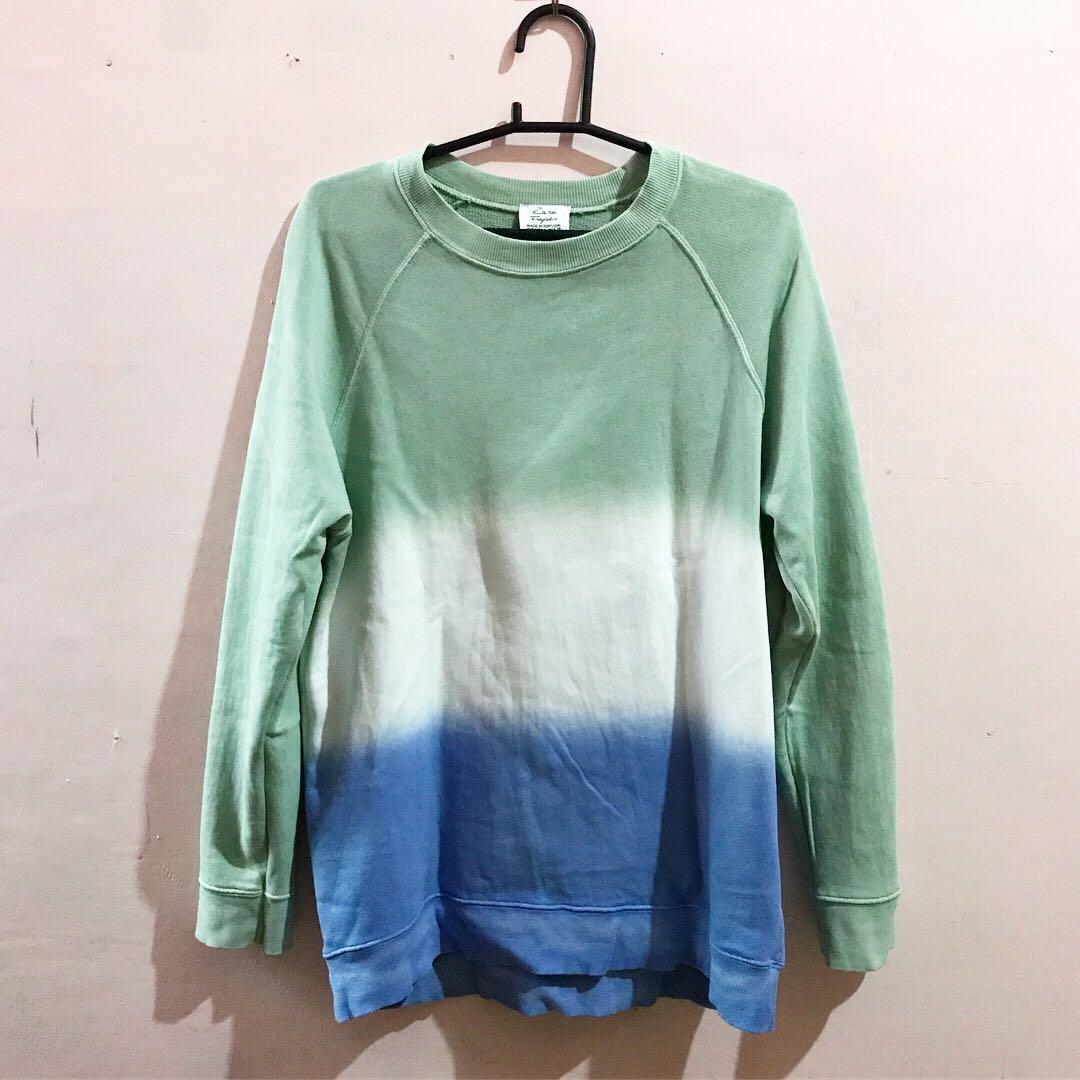 Zara Trafaluc Oversized Ombre Sweater