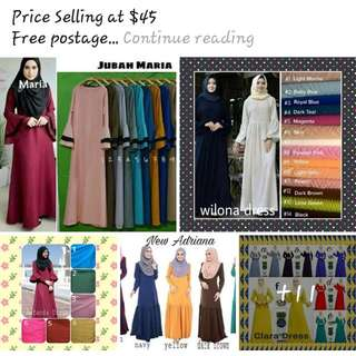 Dresses Sizes - S to 7xl