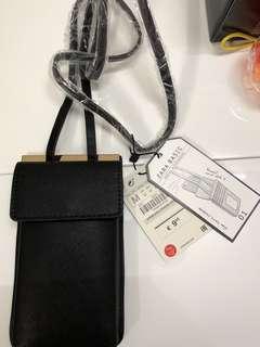 """全新ZARA iphone 6/7/8 crossbody bag 4.7""""手機電話斜孭袋"""