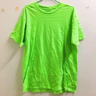 GILDAN美國棉T76000素色T 果綠款