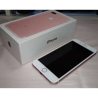 iPhone 7 Plus 128GB Rose Gold / iPhone7 Plus 128G 玫瑰金 (Ref:7PRG-128)