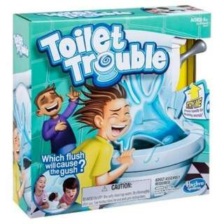 Toilet Trouble Chalenge 4402 Board Game