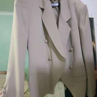 Blazer jas outer mantel wanita