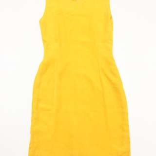 dress mustard yellow